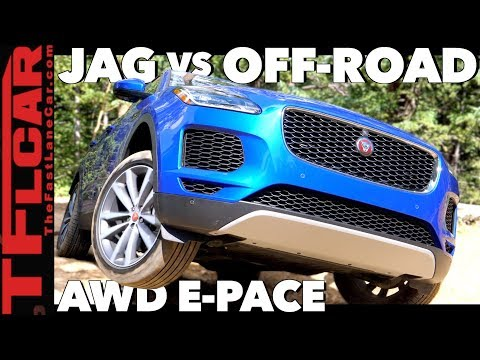 2018 Jaguar E-Pace Takes On The Gold Mine Hill Off-Road Challenge