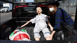 Getting rid of a medical doll is weird