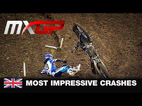 Most Impressive Crash - MXGP of Great Britain 2020