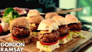 Smoky Pork Sliders with BBQ Sauce - Gordon Ramsay