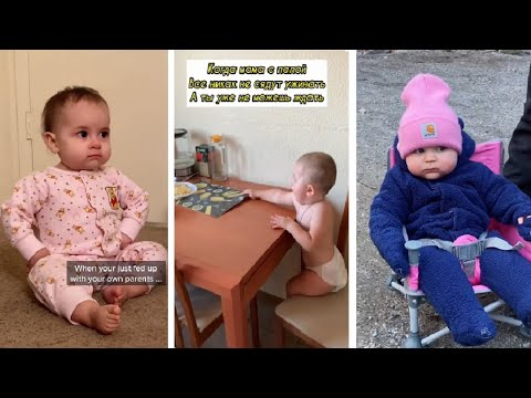 Cute Baby try not to smile Challenge #40 #shorts