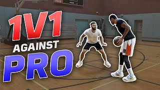 1v1 Against An NBA GLeague Hooper | CincoGotGame!