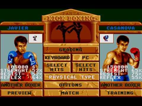 Panza Kick Boxing (Futura) (MS-DOS) [1990]