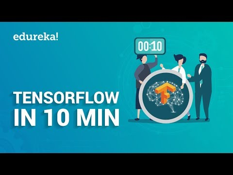 TensorFlow In 10 Minutes | TensorFlow Tutorial For Beginners | Deep Learning & TensorFlow | Edureka