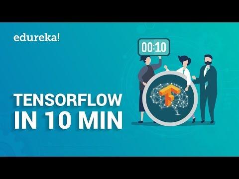 TensorFlow In 10 Minutes | TensorFlow Tutorial For Beginners | Deep Learning & TensorFlow | Edureka