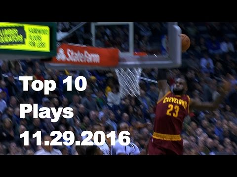 Top 10 NBA Plays: 11.29.16