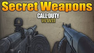NEW Secret Weapon in Call of Duty WW2 (Proto-X1 & VMG 1927 Gameplay)