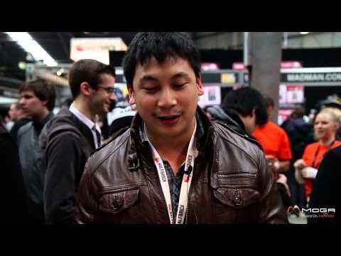 MOGA spotlight at PAX Australia 2013. Gamer reactions