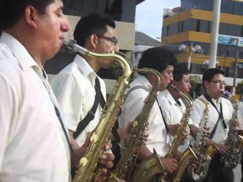 SUPER ORQUESTA SAN MIGUEL ARCANGEL 2012 EN LA PLAZA DE LOS OLIVOS