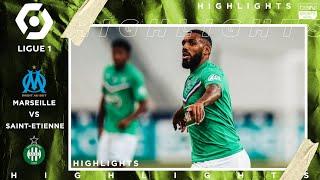 Marseille 0 - 2 St-Etienne - HIGHLIGHTS & GOALS (9/17/2020)