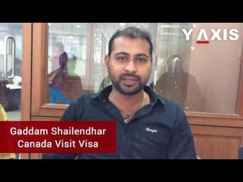 Gaddam Shailendhar Short Term Visa for USA PC Vanishree Jog