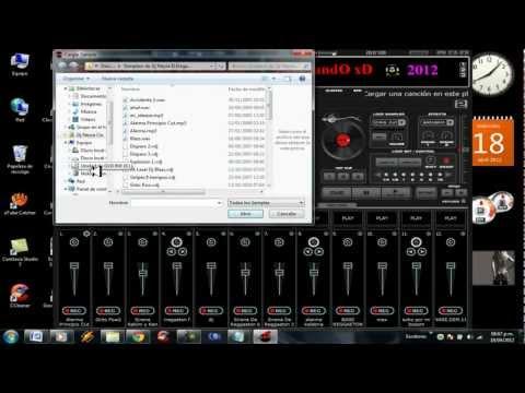 Descargar e instalar samplers para el virtual dj  (Dj Neyra Cix El Elegante )