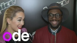 Rita Ora's hilarious will.i.am impression at The Voice UK launch