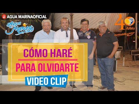 Agua Marina - Como Haré Para Olvidarte ( Video Oficial 2016 )