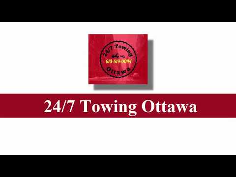 24/7 Towing Ottawa - Ottawa's Most Trusted and Affordable Car and Truck Tow Service