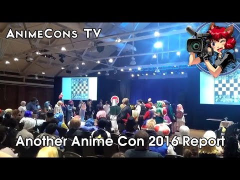 AnimeCons TV - Another Anime Con 2016 Report