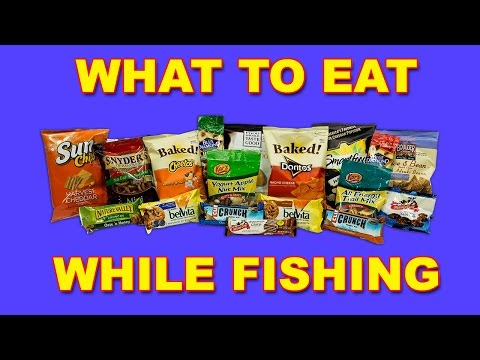 Fishing Snacks | What To Eat While Fishing | Bass Fishing