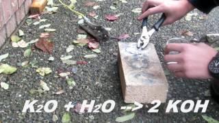 How To Make Potassium Hydroxide (Method 2)