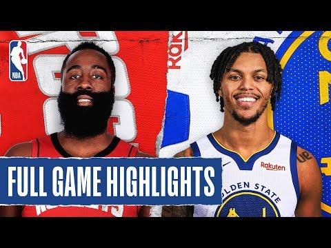 ROCKETS at WARRIORS | FULL GAME HIGHLIGHTS | December 25, 2019