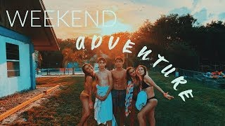 48 Hours in the Middle of Nowhere with my friends... (travel vlog)