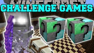 Minecraft: GHOSTLY HORSEMAN CHALLENGE GAMES - Lucky Block Mod - Modded Mini-Game