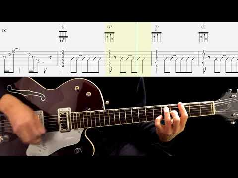 Lead Guitar TAB : I'm Gonna Sit Right Down And Cry (Over you) - The Beatles