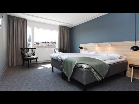 Direktorsrum som 4-bäddsrum på Ersta konferens & hotell