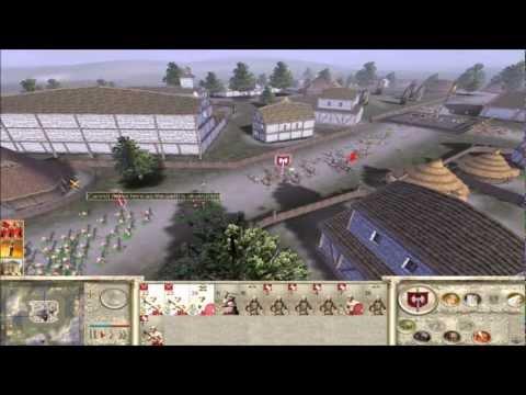 Rome Total War Online Battle #2042: Germania vs Spain (Siege)