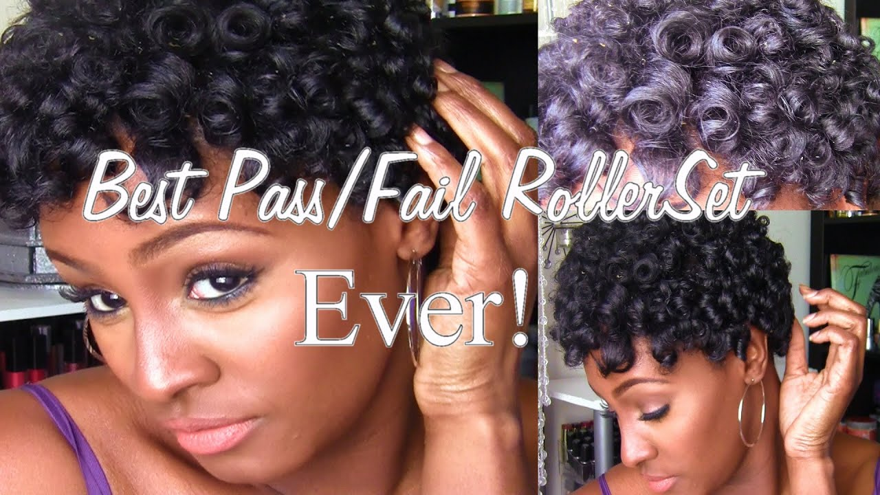 Best Pass Fail Roller Rod Set Ever 4b Natural Hair Twa