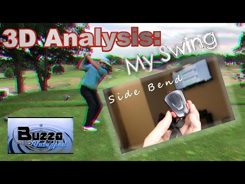 3D analysis of my Golf Swing (K Motion, BUZZA Untapped)