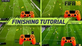 FIFA 18 FINISHING TUTORIAL - SECRET SHOOTING TIPS & TRICKS - HOW TO SCORE GOALS (H2H & FUT)