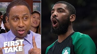'He ain't joining LeBron' – Stephen A. reacts to Kyrie-Roc Nation reports | First Take