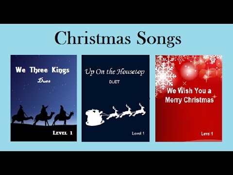 Christmas Songs in Piano Marvel
