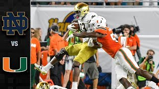 Notre Dame vs. Miami Football Highlights (2017)