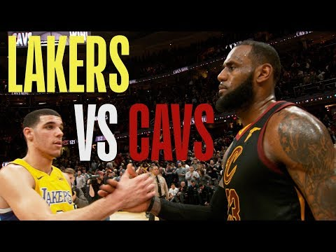 SOUND UP! Lakers vs Cavaliers!