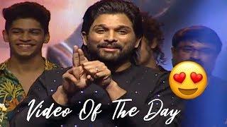 Watch: Allu Arjun Imitates Priya Prakash Varrier..