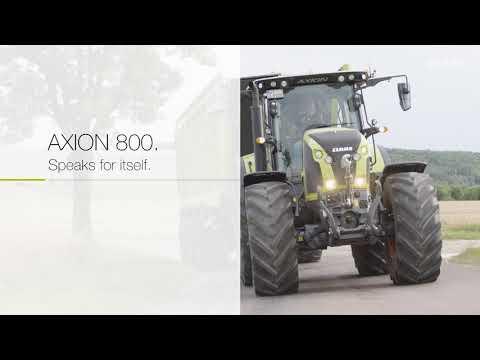 CLAAS AXION 800-serie - udvalgt til danske landmænd.