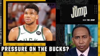 Stephen A. Smith believes there will be less pressure on the Milwaukee Bucks this season | The Jump