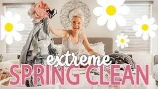 EXTREME SPRING CLEANING 2019 / GET MOTIVATED!!!!