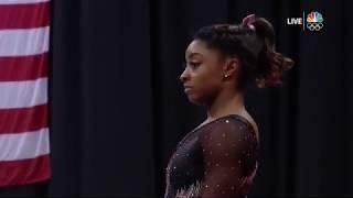 Simone Biles Floor 2019 US Gymnastics Championships Day 2 60fps