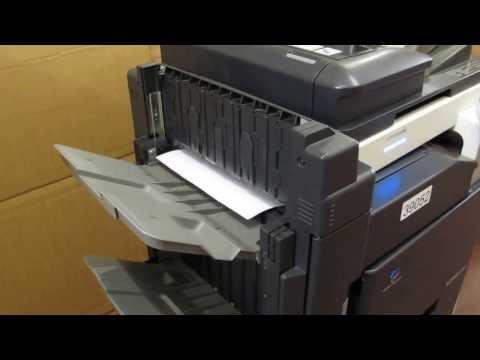 Konica Minolta Bizhub C253 Colour Photocopier Copier Printer E-mail + finisher