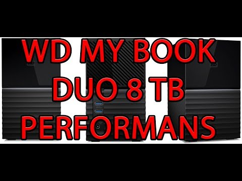 video WD My Book Duo 8TB USB 3.1 Kişisel Bulut Depolama