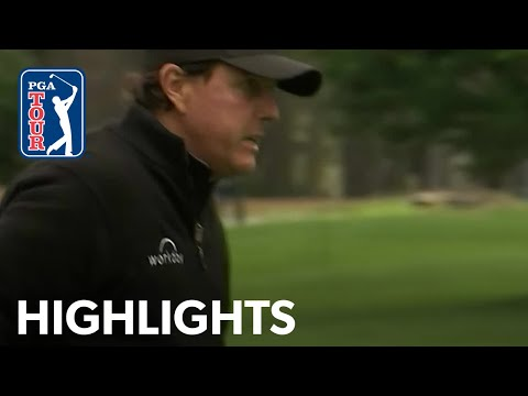 Phil Mickelson highlights   Round 2   AT&T Pebble Beach 2019