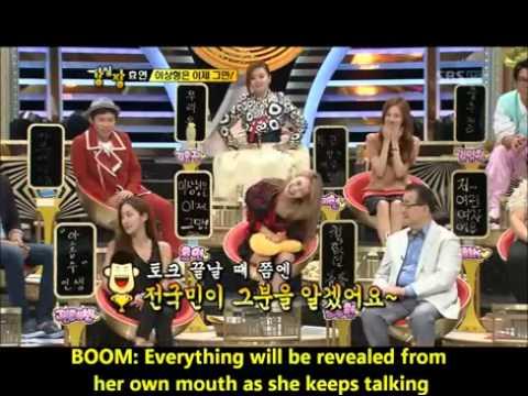 hyoyeon cut strong heart