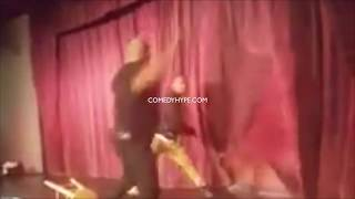 Comedian Attacked On Stage: Steve Brown Vs. Fan At The Comedy House