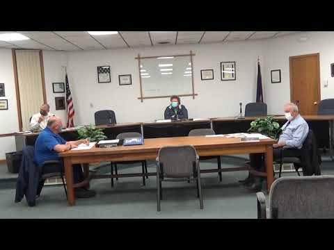 Rouses Point Village Board Meeting 10-19-20