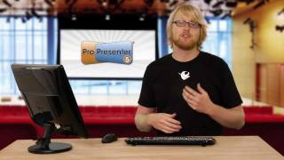 ProPresenter 5 Interface Overview | Brad Zimmerman