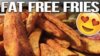 FAT-FREE French Fries Recipe (EASY!)