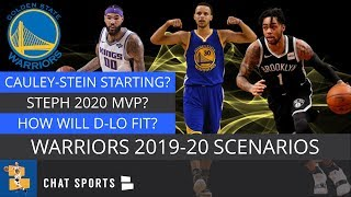 Warriors Rumors: Best/Worst Case Scenarios In 2019-20 | Steph Curry MVP? D'Angelo Russell Not A Fit?
