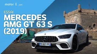 Essai Mercedes-AMG GT 63 S Coupé 4 Portes (2019)